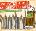 No Patents On Seeds Plakat DE